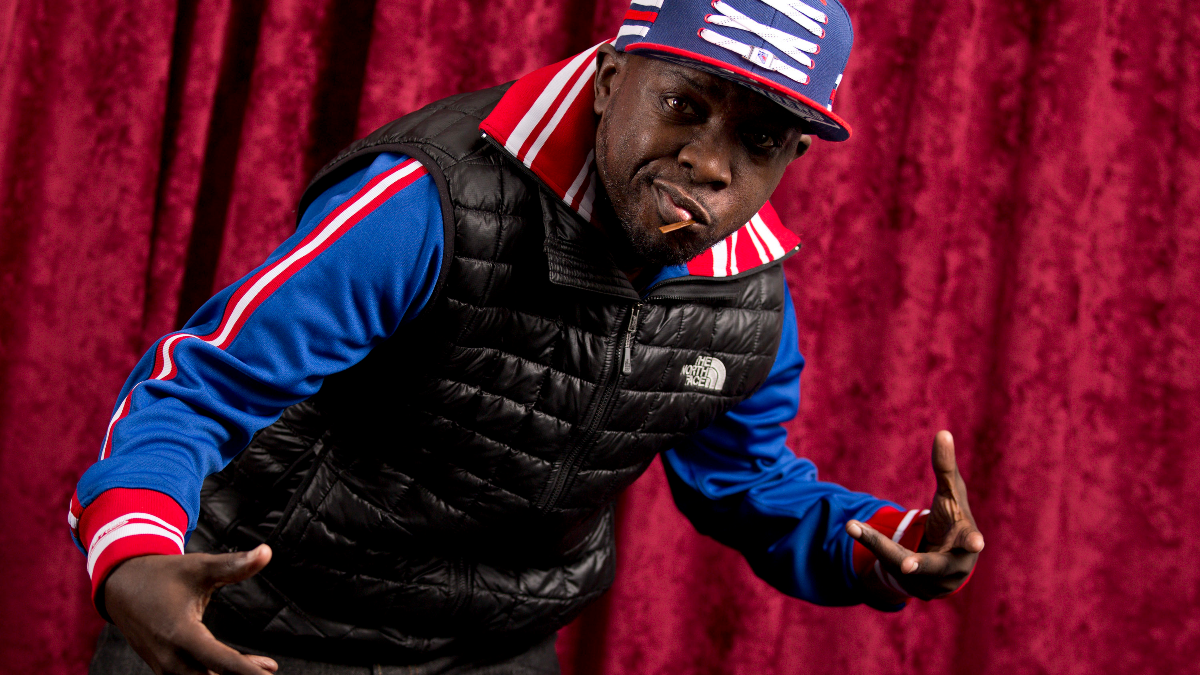 Malik Isaac Taylor aka Phife Dawg, of A Tribe Called Quest, poses for a portrait at Sirius XM studios in New York in November 2015 (Photo by Brian Ach/Invision/AP).