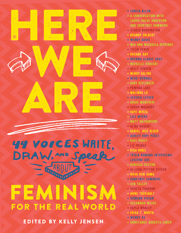 Kelly Jensen's 'Here We Are: Feminism for the Real World'