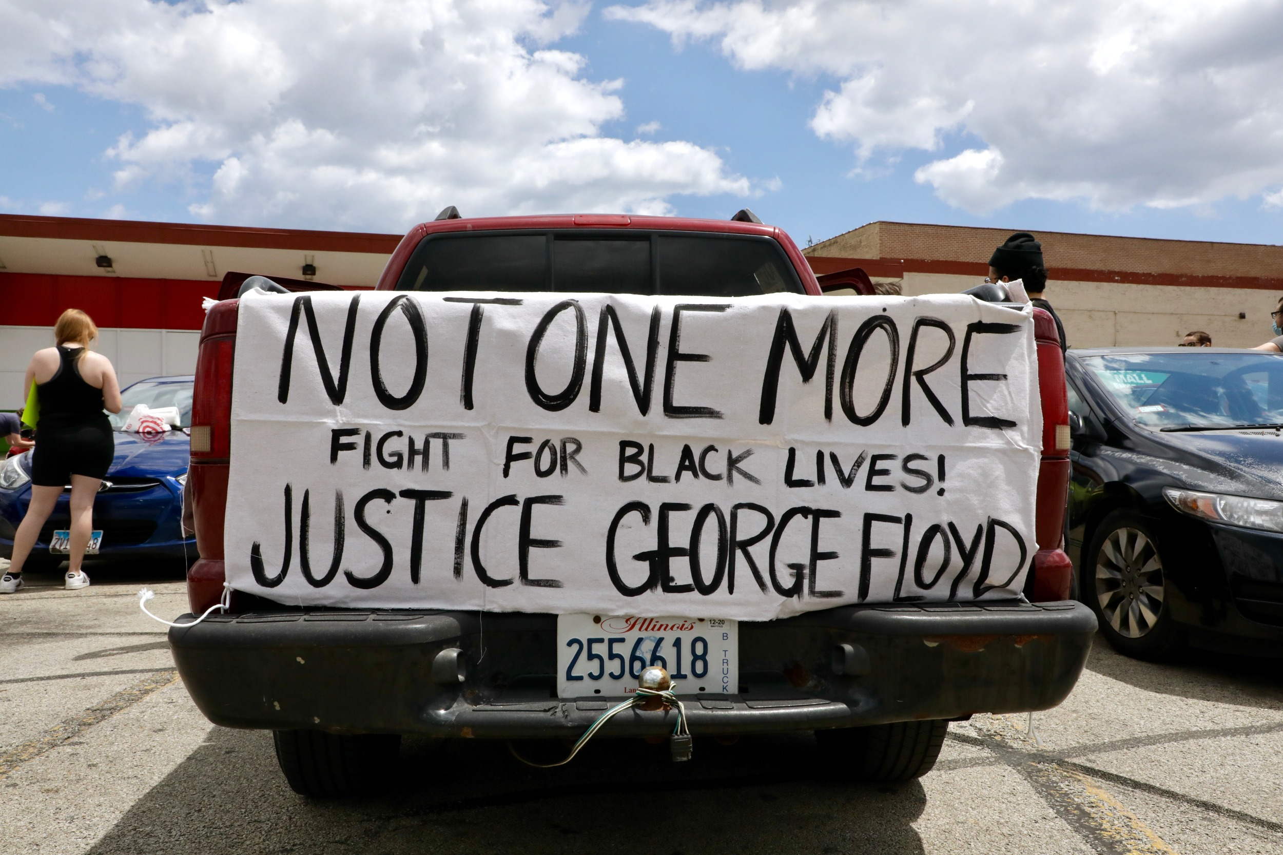 Justice for Floyd poster