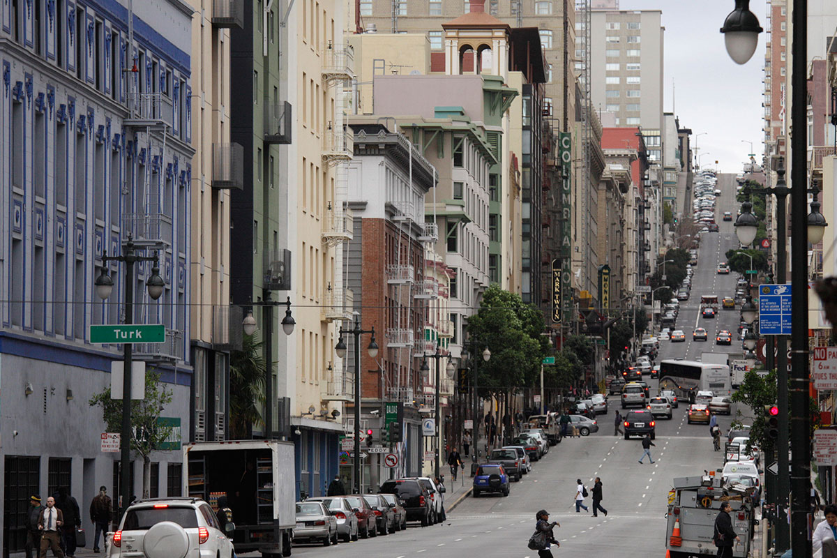 San Francisco's Tenderloin neighborhood. (Eric Risberg/AP Photo)