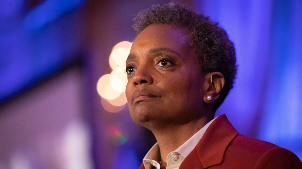 Lori Lightfoot victory speech Finishing