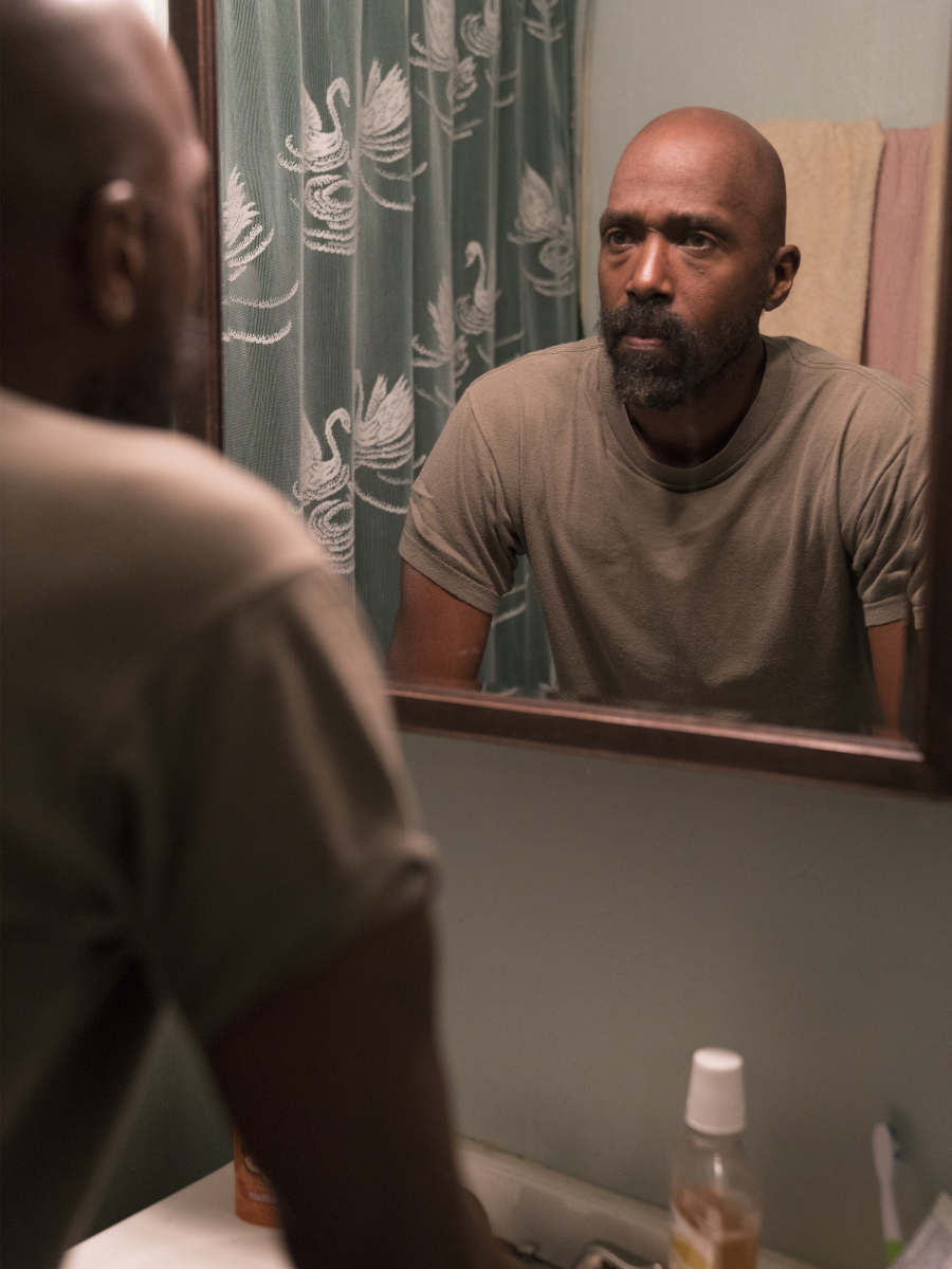 Ntare Guma Mbaho Mwine as Ronnie. (Parrish Lewis/SHOWTIME)