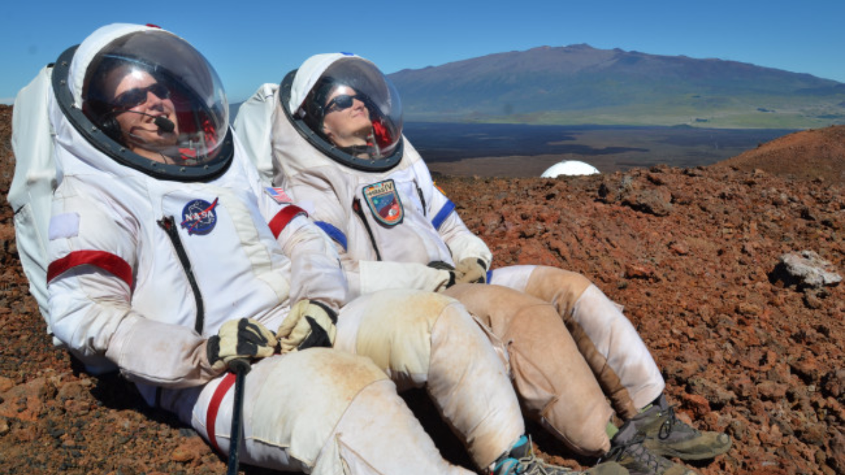 Dr. Sheyna Gifford spent a whole year inside a mock spaceship atop a Hawaiian volcano, where NASA tested how humans experience long-term isolation. (Photo courtesy of Sheyna Gifford)
