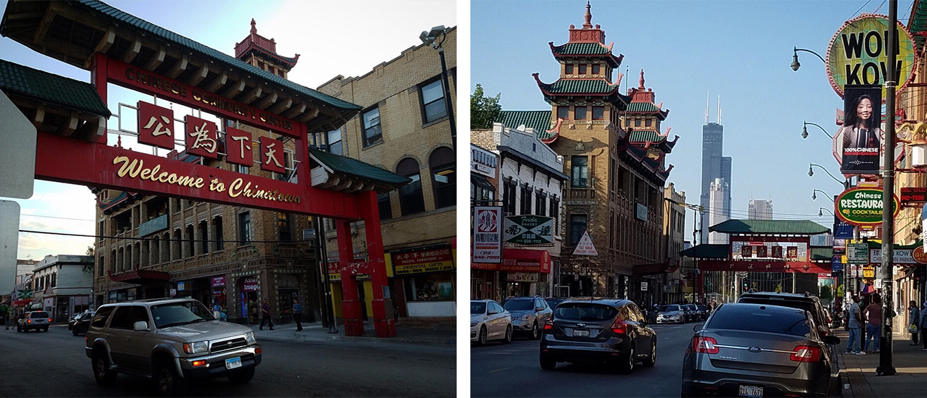 Chicago's Chinatown neighborhood near Cermak and Wentworth was established around 1915. (WBEZ/Monica Eng)