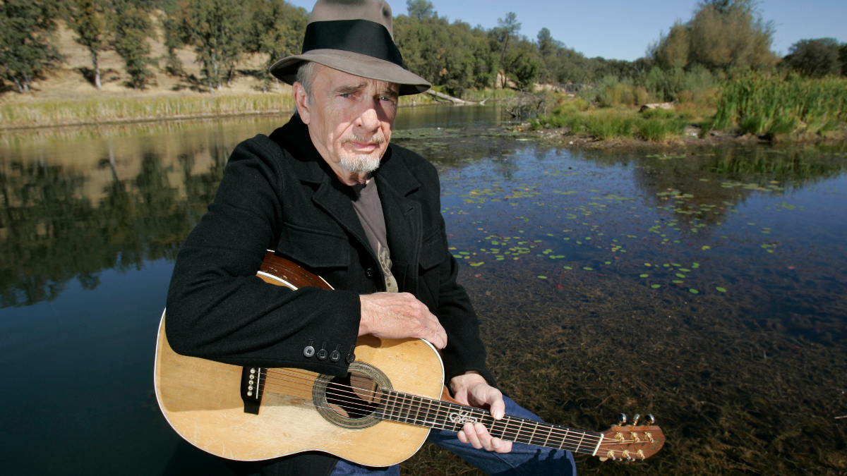 Merle Haggard poses for a photo at his ranch at Palo Cedro, Calif. in October 2007. (AP Photo/Rich Pedroncelli).