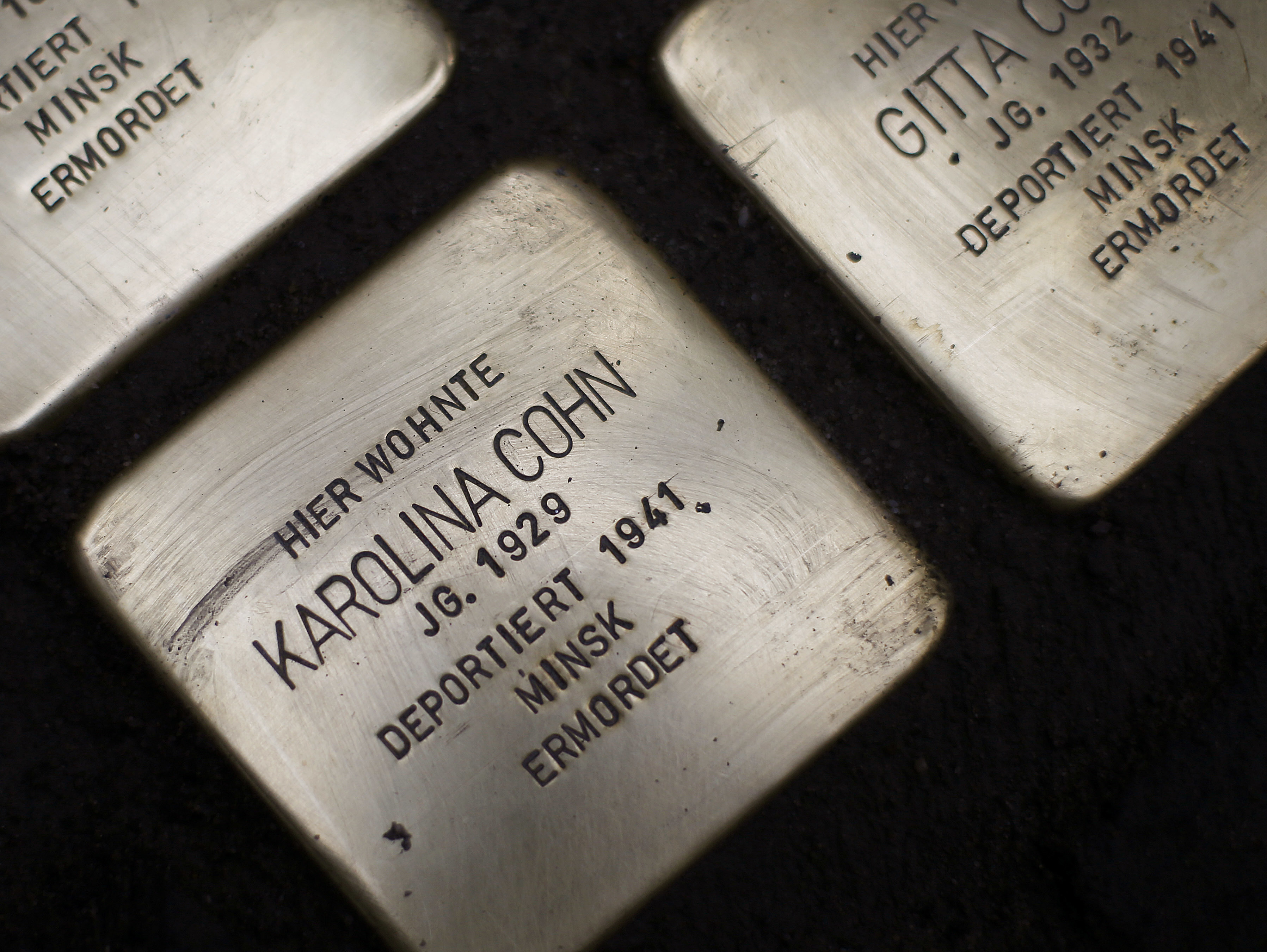 Stolpersteine stones are in at least 1,200 places in Germany and in countries like Austria, Poland and Russia. Cole says they are the inspiration for the public art project he'd like to create for Chicago.