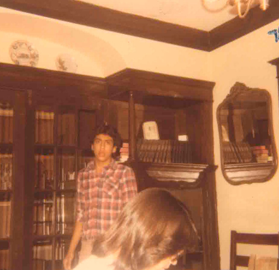 Tony in the dining room in 1978. (Courtesy of Tony Sarabia)