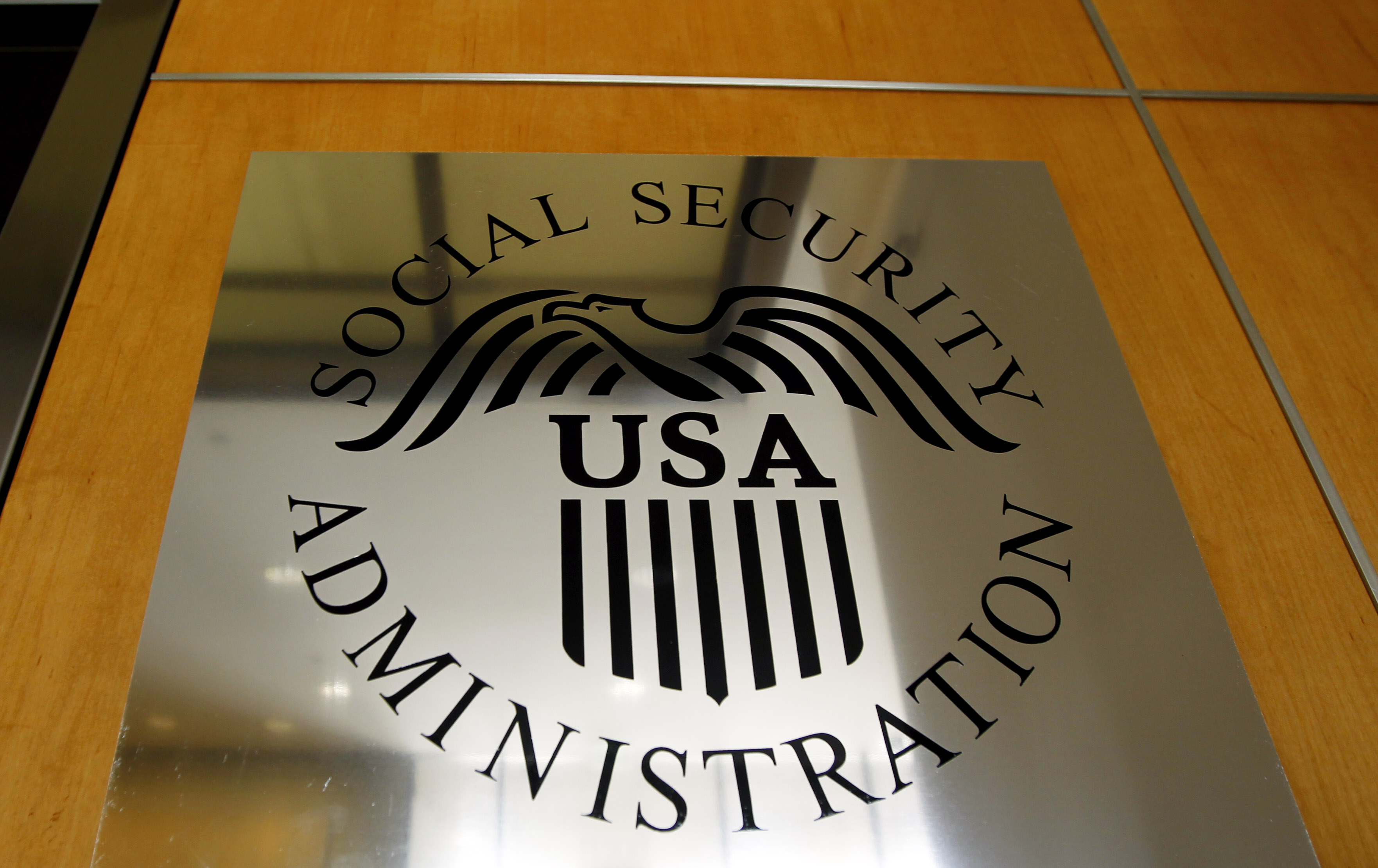 This is a 2011 file photo of a sign for the Social Security Administration in Los Angeles. This year, the Trump Administration reinstated the practice of notifying employers of discrepancies with the social security numbers of their employees.
