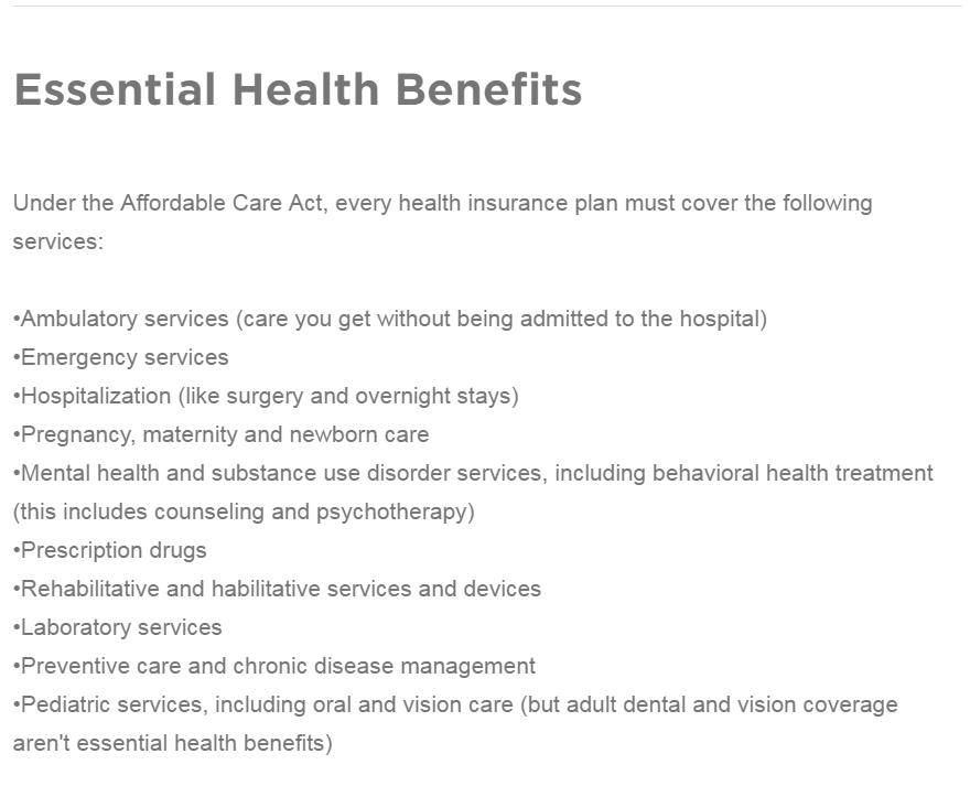 Source: HealthCare.gov.