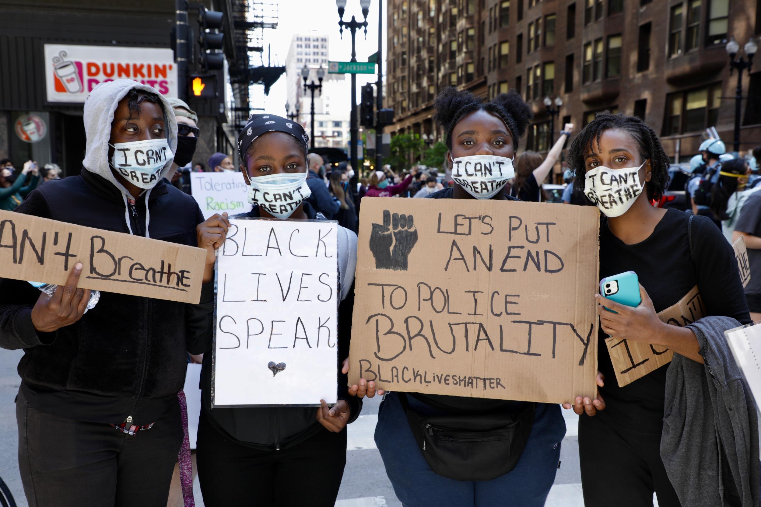 AfAm Floyd protestors