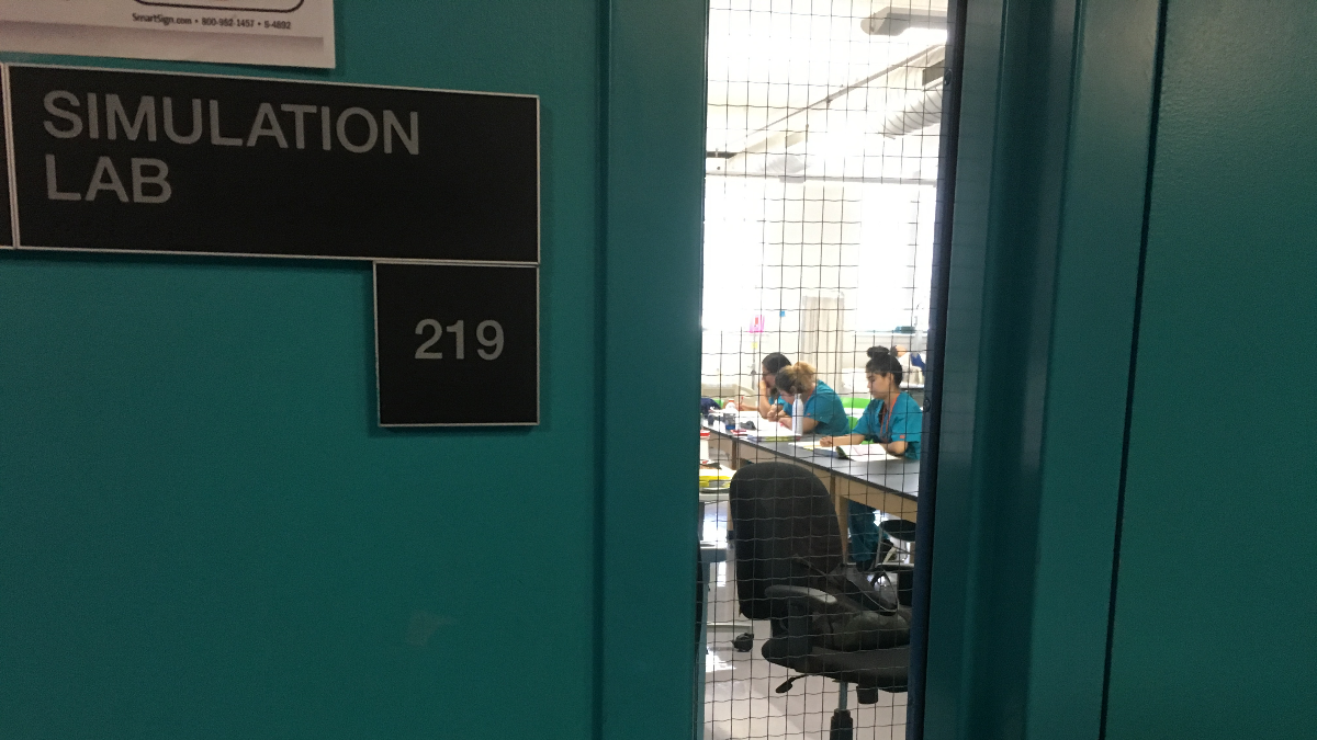 Students in Instituto College's first class will be working toward becoming registered nurses. (Kate McGee/WBEZ)