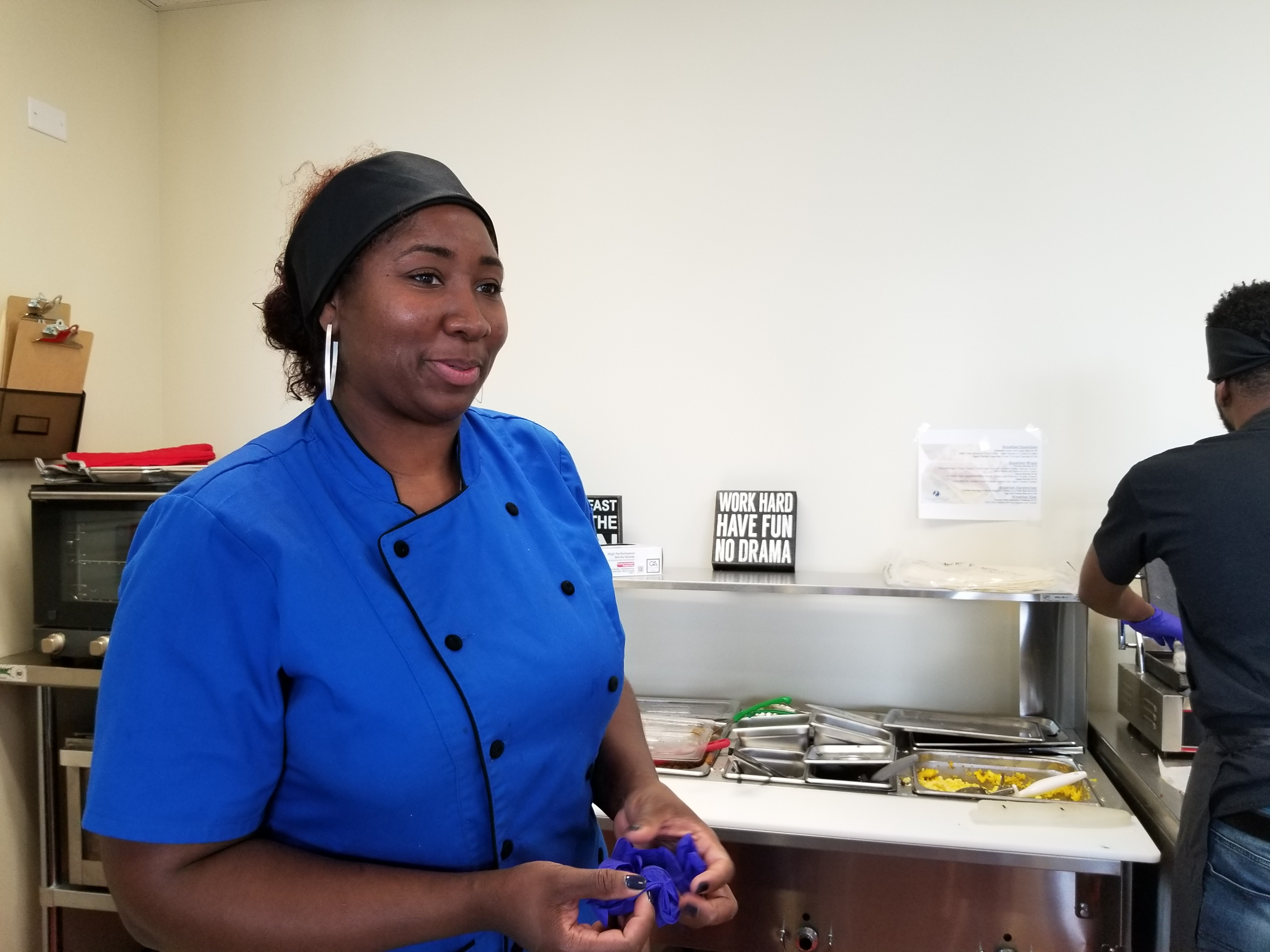 Tiffany Williams of Exquisite To Go has run a catering business for the past two years. She dreams of one day launching a stand-alone restaurant in her native Woodlawn community.