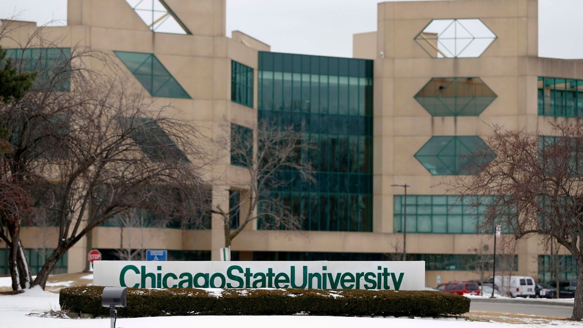 Officials at Chicago State University last year declared a financial emergency at the school that largely serves black students. (Charles Rex Arbogast/AP)