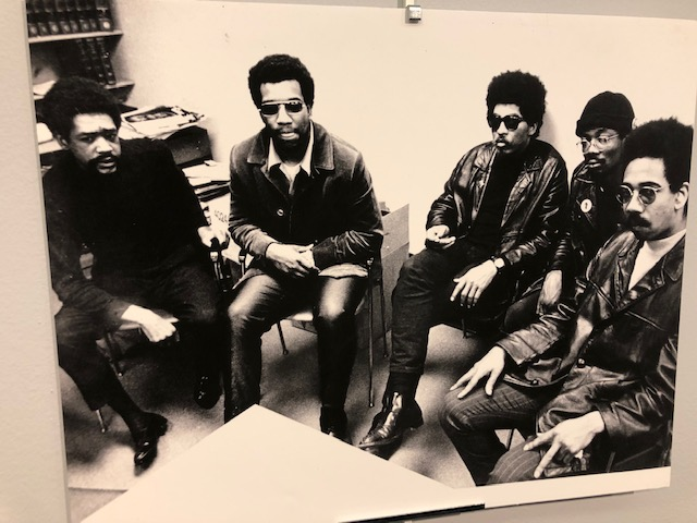 From left, Fred Hampton, Don Cox, Masai Hewitt and Bobby Rush. (Photo courtesy of the Illinois Chapter of the Black Panther Party)