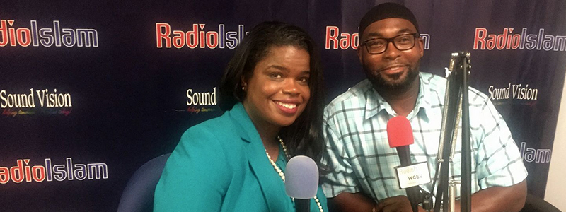 As senior producer and host of the talk radio program RadioIslam, Tariq El-Amin facilitates discussions about the Muslim community. In September 2017, he interviewed Cook County States Attorney Kimberly Foxx. (Courtesy Tariq El-Amin)