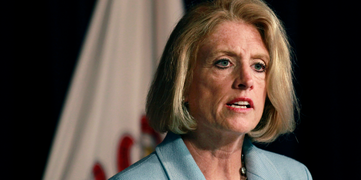 Illinois state Comptroller Leslie Munger on June 10, 2015. (Christian K. Lee/AP)