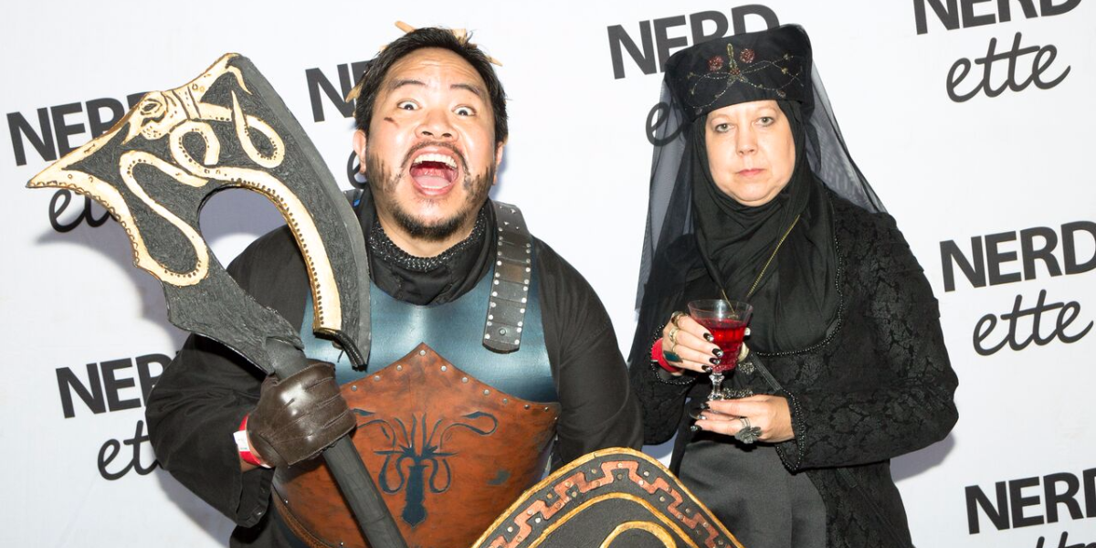There were many, many cosplayers at Nerdette's live show recapping Season 7 of 'Game of Thrones,' which took place at DANK House in Chicago's Lincoln Square on August 30, 2017. (Alison King/For WBEZ).