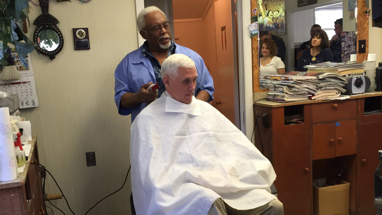 Mike Pence Got His Hair Cut At A Black Barbershop And This Happened