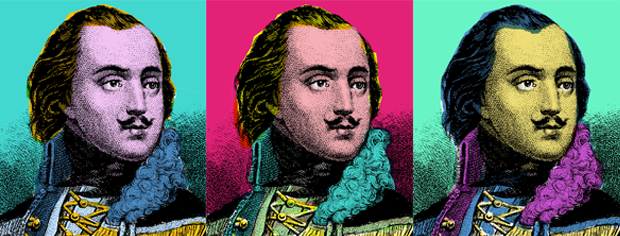 Casimir Pulaski, courtesy of National Park Service. Colorization by Logan Jaffe