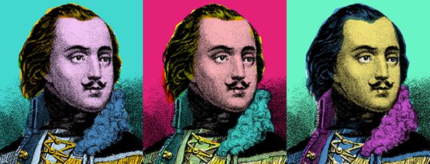 Casimir Pulaski, courtesy of National Park Service. Colorization by Logan Jaffe