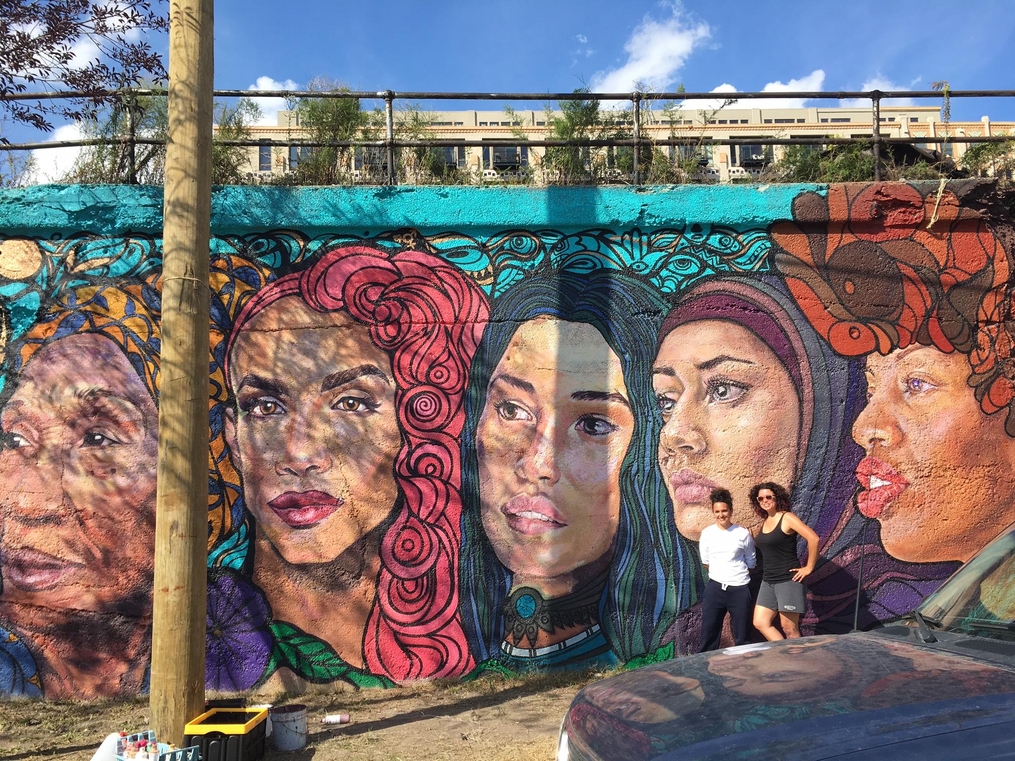 underrepresented women focus of pilsen mural everyblock chicago underrepresented women focus of pilsen mural