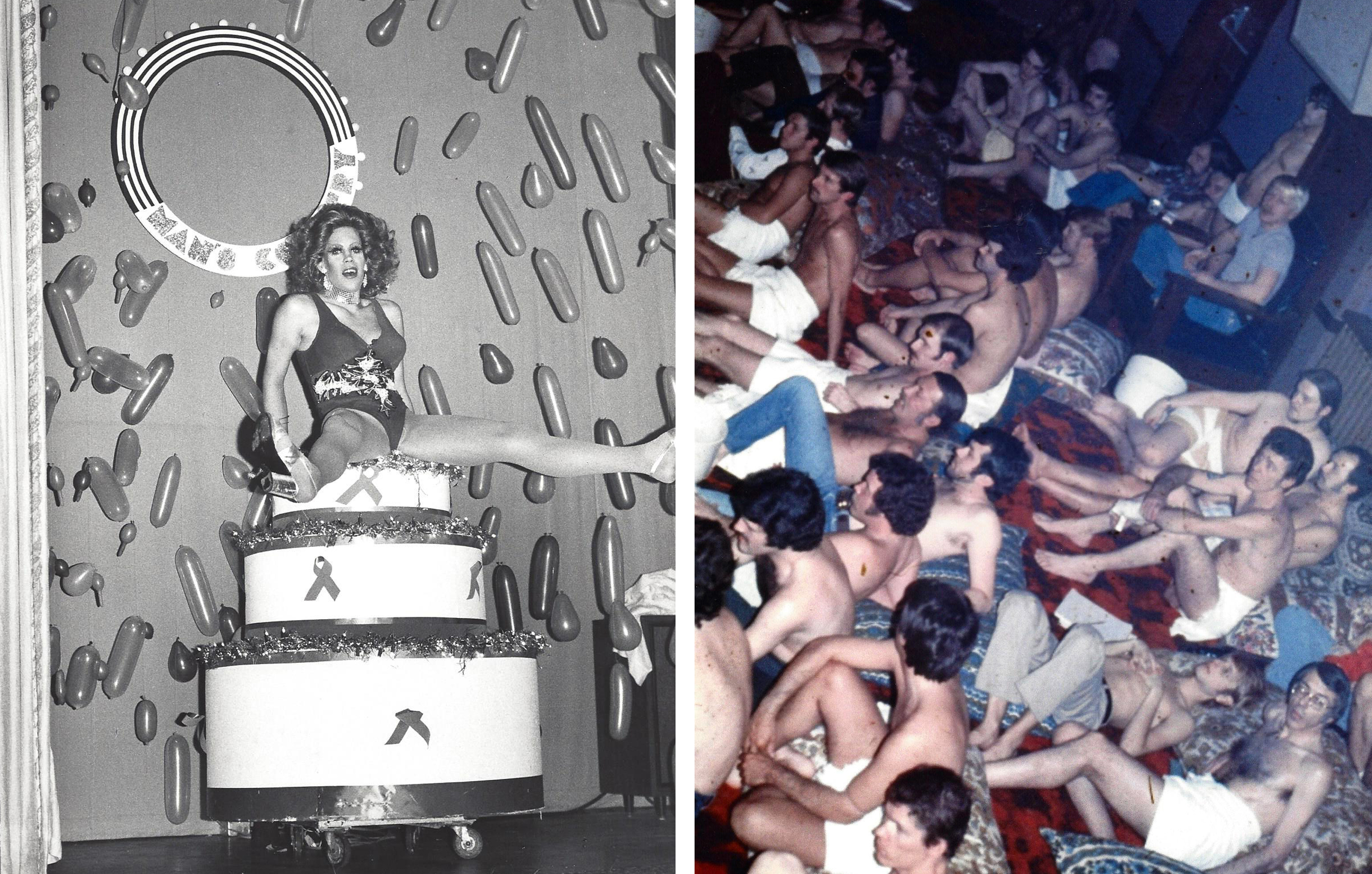 Man's Country was a center for gay social life in the '70s and '80s.     (Courtesy Leather Museum & Archives)