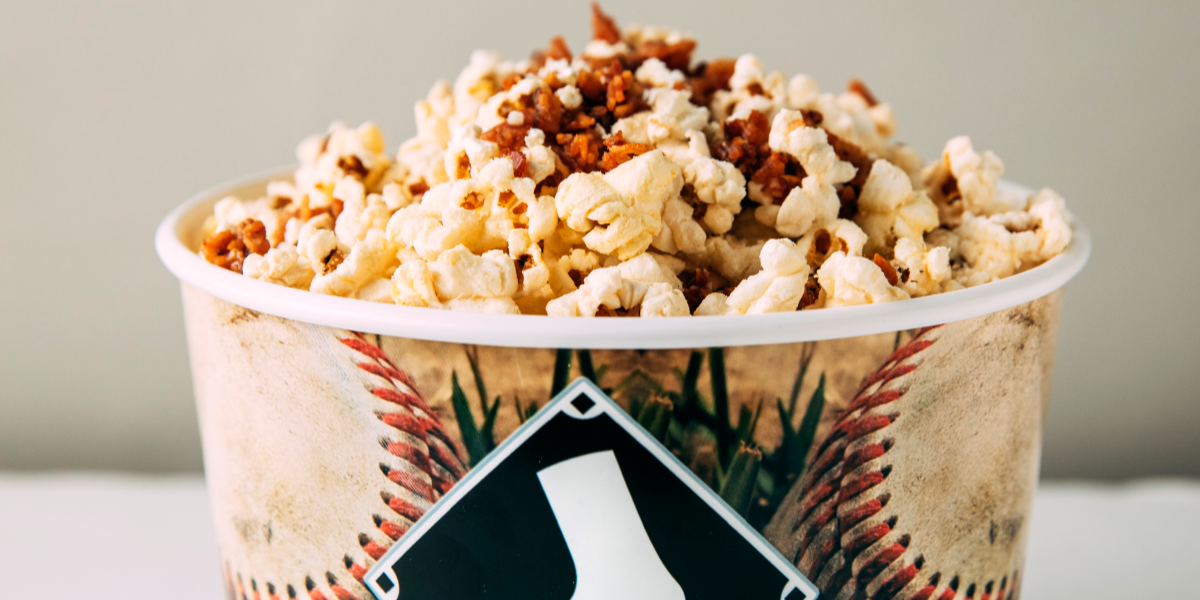 White Sox Bacon Popcorn