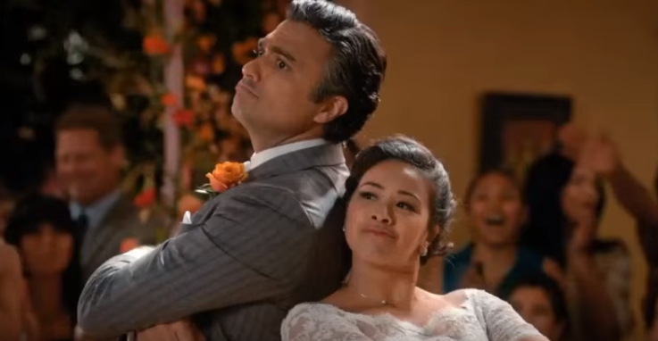 Jaime Camil was a real telenovela star before becoming a fake one on the CW TV series 'Jane the Virgin,' where he plays Rogelio De La Vega, the father of Jane (played by Gina Rodriguez) and a notorious overactor. Camil also loves the History Channel's 'Ancient Aliens.' (Screenshot via YouTube/Courtesy CW)