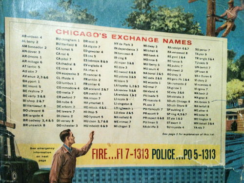 The 311 On Chicago's Early Phone Numbers  WBEZ